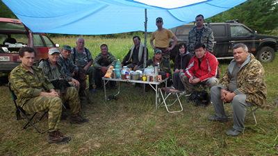 На Шелеховских испытаниях по полевой дичи, 2012 г.